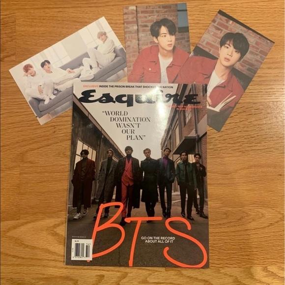 BTS Esquire Magazine Cover - Winter Edition